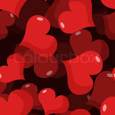 february heart background. Fine Heart Love 3D Seamless Pattern Red Heart Background Texture For Valentines Day  February 14 Holiday Lovers Vector Intended Heart Background