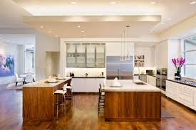 appealing kitchen with illumination kitchen ceiling light ideas and wooden kitchen island feat stainless steel stools awesome kitchen ceiling lights ideas kitchen