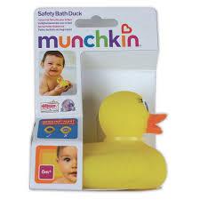 white hot safety bath duck