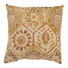 Image of: Summer Gold Throw Pillows