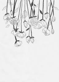 Small Picture The 25 best Flower line drawings ideas on Pinterest Sketches