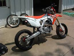crf 450 supermoto motorcycles for sale