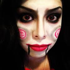 jigsaw makeup for tutorial saw rubynicole85 you