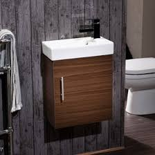 dark wood for furniture. Drench Maisie 400mm Wall Hung Vanity Unit And Basin - Walnut Dark Wood For Furniture F