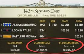 The Math Behind 2019 Kentucky Derbys Large Expected Payouts
