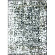 distressed rug vintage with modern design in shades of taupe and blue for oriental beige
