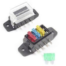 buy fuse holder car fuses & fuse boxes ebay fuse box car charger fuse box 4 way for standard blade fuses ato holder block 12v or 24v car