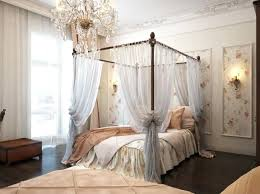 Canopy Bed Curtain Ideas Woven Textures And See Through Curtains ...