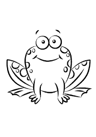 Small Picture Luxury Cartoon Frog Coloring Pages 52 For Your Line Drawings with