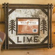 birch bark crafts | birch bark picture frame - Google Search | Classy Crafts