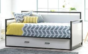 Tufted Trundle Bed Platform Daybed Frame With Storage Drawers Wood Full Twin