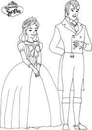 Coloriage A Imprimer Princesse Sofia Roi Et Reine Gratuit Et Colorier