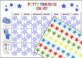 Reusable Boys Potty Training Reward Chart 63 Star Stickers