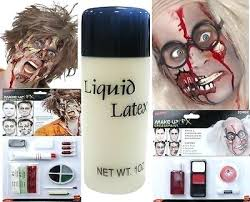 liquid latex zombie makeup for photo 2 how to apply