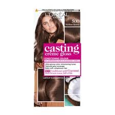 Semi Permanent Hair Dye Colour Chart Casting Creme Gloss 500 Medium Brown Semi Permanent Hair Dye