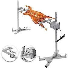 VBENLEM <b>BBQ Rotisserie</b> Kit 60 to 90LB Pig Spit <b>Rotisserie Grill</b> ...