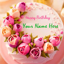 Write Name On Birthday Cake Online For Free Newshunts24