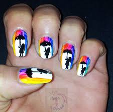 365+ days of nail art: Day 172) Nail art inspired by crayons art