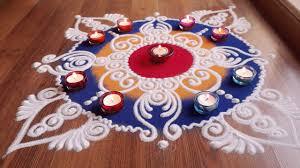 Diwali Rangoli Designs Sanskar Bharti Repeat Quick And Easy Sanskar Bharti Rangoli Designs With