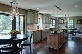 Maple Finish Kitchen Cabinets Grabill Cabinets Grabill Helps Kitchen Renovation To A Fabulous