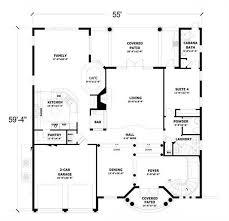 floor plan first story of coastal plan 107 1213