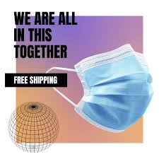 DH511100 - <b>100 pcs</b>. 3 Ply <b>Disposable Non-Woven</b> Face <b>Mask</b> ...