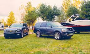 2015 Chevrolet Tahoe LTZ vs. 2015 Ford Expedition Platinum ...