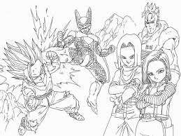 The dragon ball z coloring pages will grow the kids' interest in colors and painting, as well as, let them interact with their favorite cartoon character in their imagination. Dragon Ball Z Coloring Book Pdf Coloring Pages Coloring Home