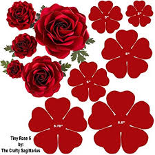 Flower Templates For Paper Flowers