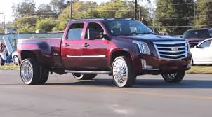 Worlds First Cadillac Esaclade Dually on 26s! - Speed Society