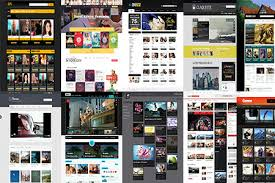website template video 50 amazing band musician website templates in 2017