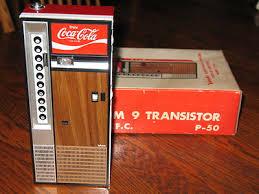 Coca Cola Vending Machine Radio Enchanting Coke CocaCola Vending Machine AMFM Transistor Radio 48's Vintage