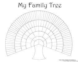 Genealogy Tree Template