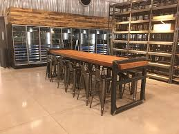 urban rustic furniture. detroit denailed salvaged wood industrial urban rustic restaurant tables including furniture