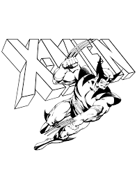 Small Picture X Men Coloring Pages GetColoringPagescom