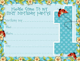 print free birthday invitations 1st birthday invitation template free printable vastuuonminun