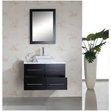 Contemporary Bath Vanity Cabinets Bathroom White Bathroom Vanities 355 Wall Mount Solid Wood
