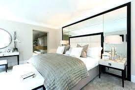 Mirrored Headboard Bedroom Set Headboard With Mirror Mirror ...