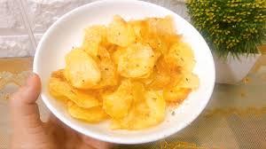 Cách làm bim bim khoai tây bằng nồi chiên không dầu giòn rụm cực ngon