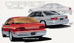 1992: Major Revisions to the 1994 Chevrolet Caprice