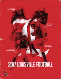 Louisville Football 2017 Depth Chart Louisville 2017 Football
