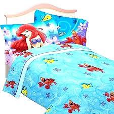 little mermaid bedding set velvet the