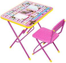 Купить комплект детской <b>мебели Ника</b> Маша и Медведь <b>Умничка</b> ...