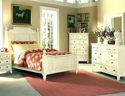 Distressed Bed Rustic White Bedroom White Distressed Bedroom
