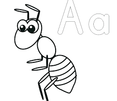 Ants Coloring Page Anteater Pages Of Ant And Classroom Free