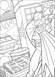 Coloring Page Batman Journal Coloringme