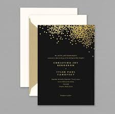black and gold wedding invitations gangcraft net Elegant Wedding Invitations Vera Wang vera wang gold confetti engraved black wedding invitation, wedding invitations Unique Fall Wedding Invitations