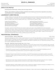 Resume Template Military To Civilian Resume Examples Free Career