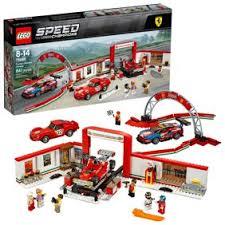 De set is inclusief 6 minifiguren met diverse accessoires: Lego Speed Champions F14 T Scuderia Ferrari Truck 884 Piece Building Set 75913 Walmart Com Walmart Com