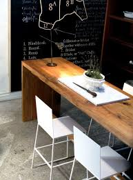 would love 2 long narrow tables one for laptop desk another side tablebuffet pull both together a large gathering table l68